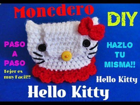 Mickey Mouse - Mini Monedero!!! TEJIDO A CROCHET - YouTube | bolsas ...
