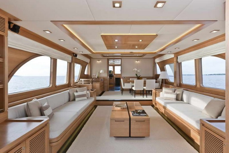 24 Good Luxury Yacht Interior Designs With Images Boat