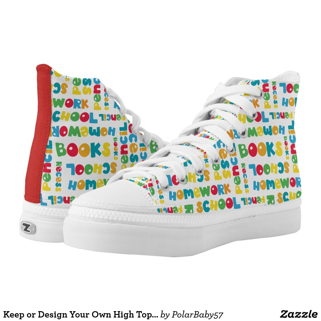 Create your own High Tops | Zazzle.com (With images ...
