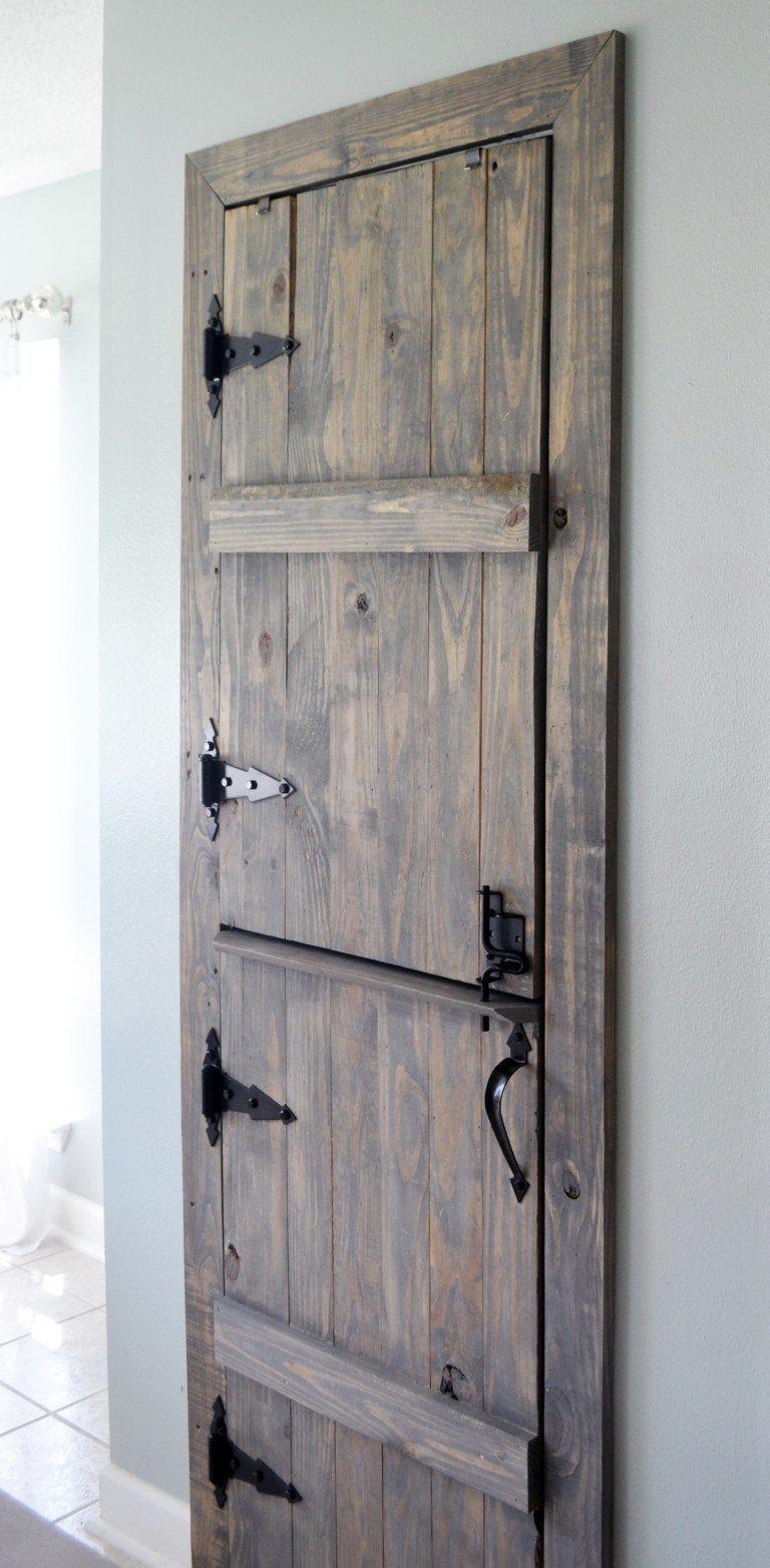 Diy Farmhouse Pantry Door Farmhouse Pantry Kitchen Pantry Doors Vintage Pantry