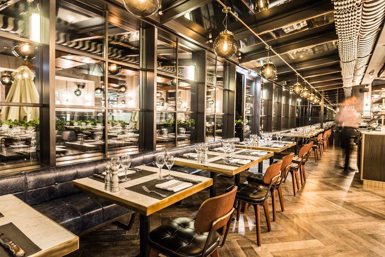 Beeftro Restaurant By Humbert Poyet Luxembourg Urdesignmag Original Btc Lighting Restaurant Decor Restaurant