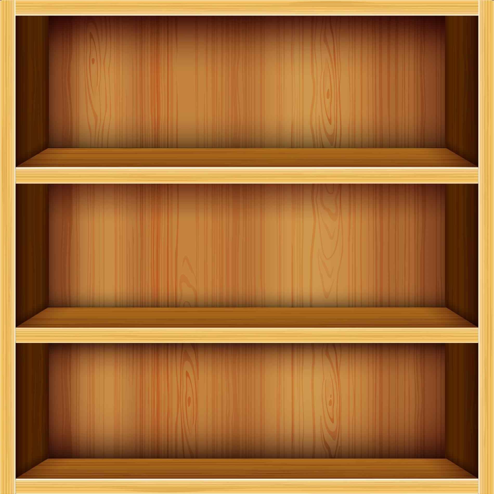 Empty Bookcase Background Beautiful Empty And Full Png Transparent Empty And Full Png Bookcase Shelves Solid Wood Bookshelf