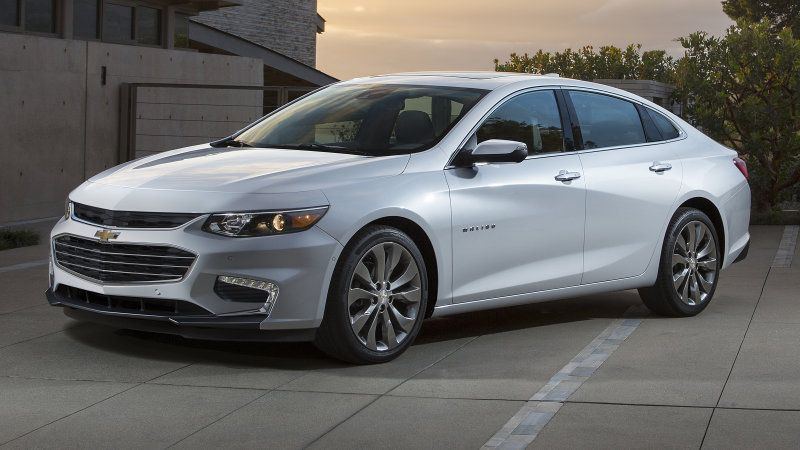 2016 Chevy Malibu Gets Premium Looks Hybrid Model Chevrolet