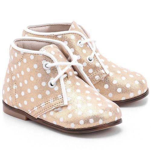 Roczki Zlote Skorzane Trzewiki Dzieciece E 2361 Shoes Fashion Sneakers