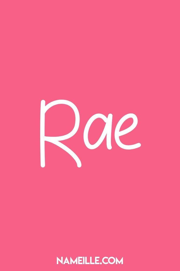 Super süße Namen für Mädchen Rae I Super Cute Babynamen