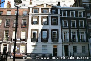 Sense And Sensibility location: the London home of the Dashwoods: Adam Street, London WC2