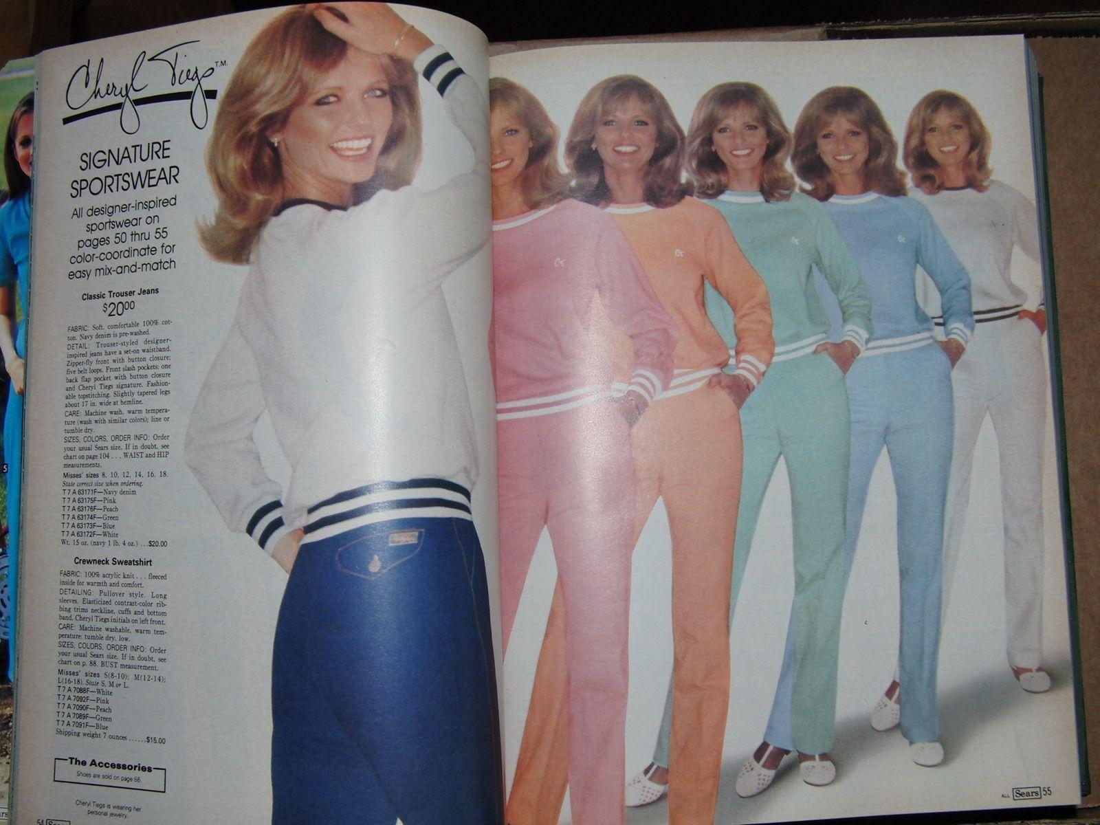 1986 Cheryl Tiegs Sportswear
