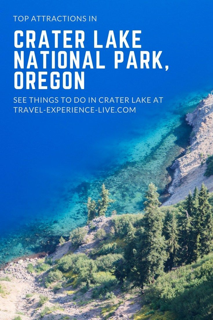 7 Best Crater Lake National Park Attractions | The National Parks Experience #craterlakenationalpark
