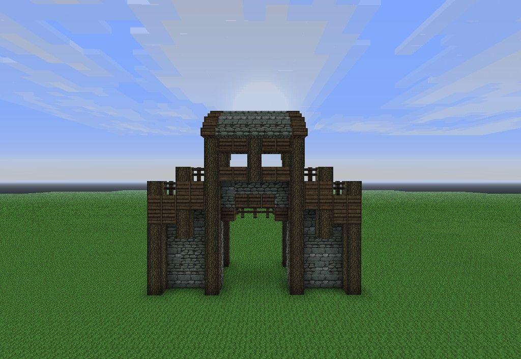 Simple Wall Design Minecraft