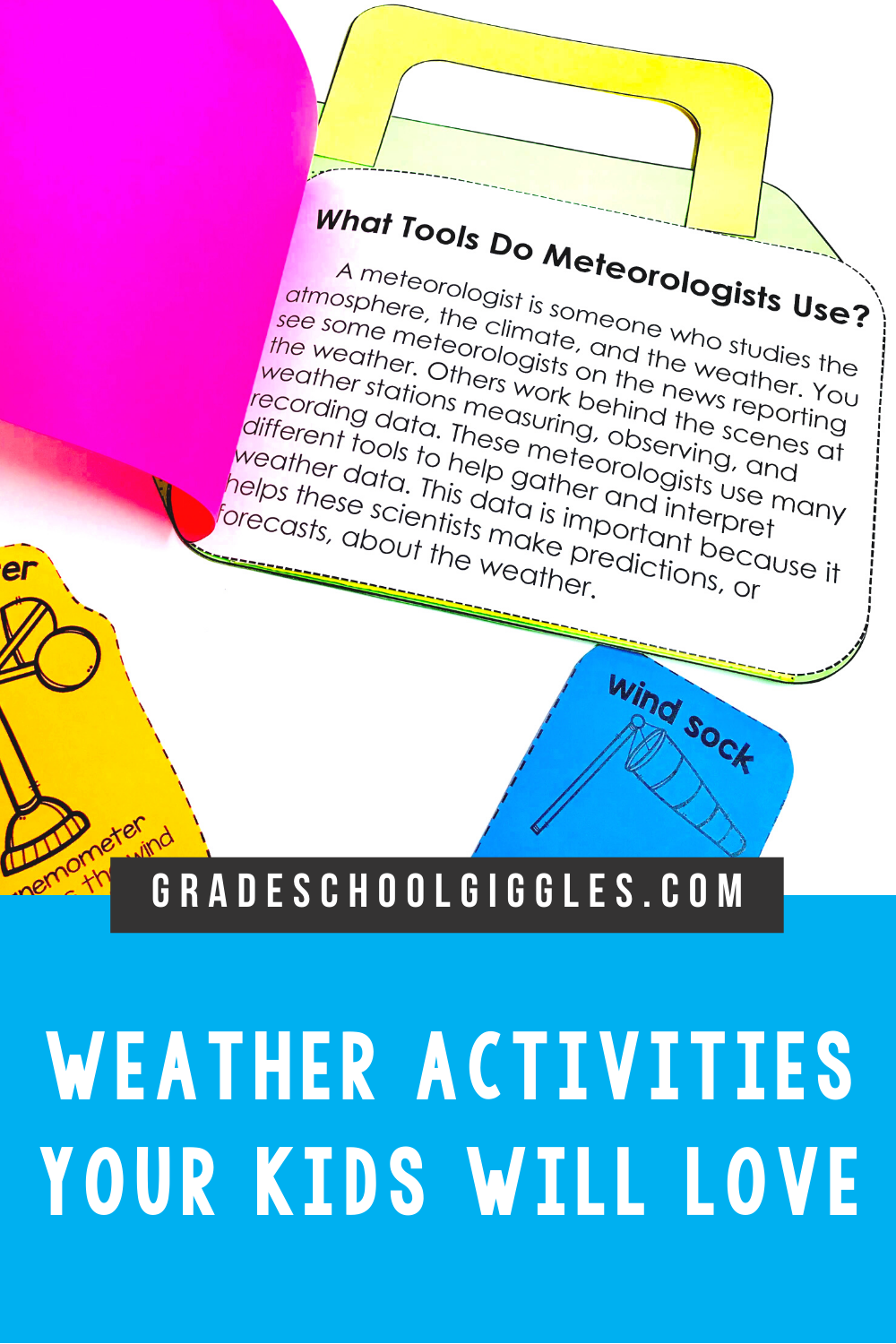 Weather Activities Bundle in 2020 Weather activities