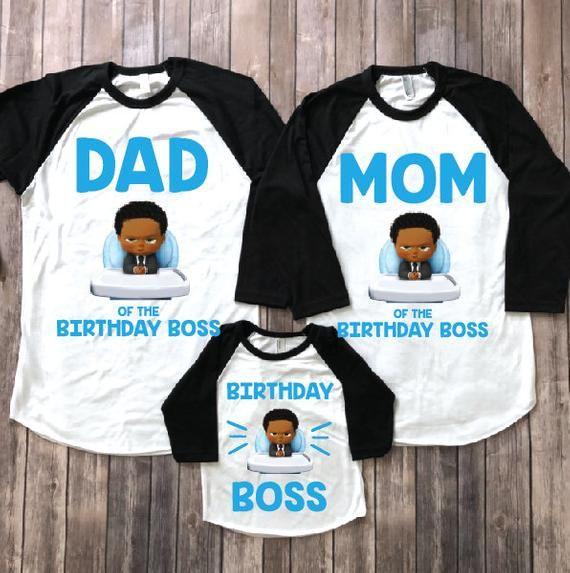 African american boss baby, birthday shirt, boss baby shirt, boss baby birthday party, boss baby theme, boss baby shirt, boy birthday shirt