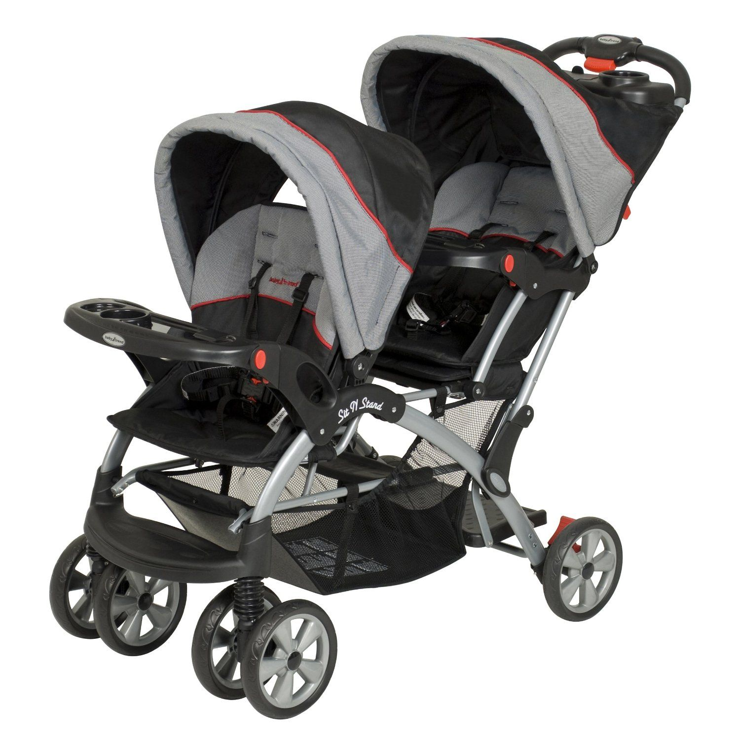 Baby Trend Double Stroller Millennium. Fits two infant