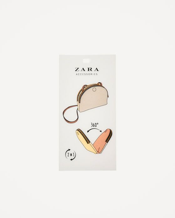Image 2 of MULTICOLORED CROSSBODY BAG from Zara
