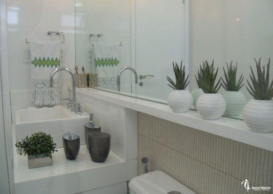 Banheiros e lavabos chiques e aconchegantes  Blog da Michelle Mayrink  CASA -> Banheiro Pequeno E Chique