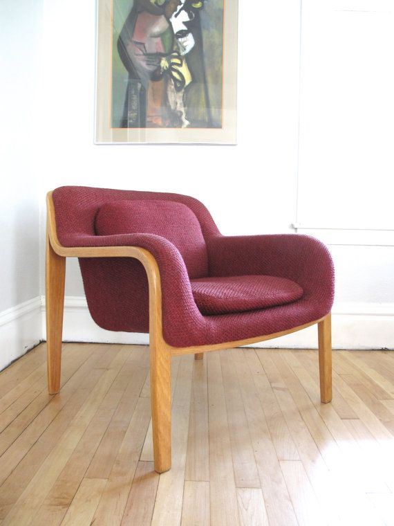 Wonderful Knoll Lounge Chair By Bill Stephens On Etsy, $420.00