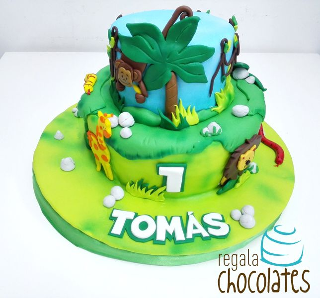 Tortas temáticas : Torta Selva