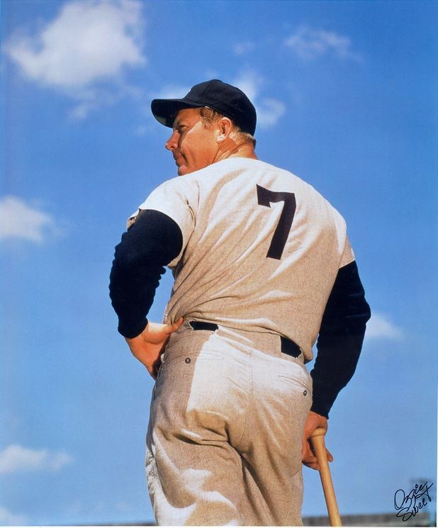 """c8303b7efc6 Mickey Mantle was a Hall of Fame New York Yankee center fielder regarded as  the greatest """"switch hitter"""" in the history of baseball."""