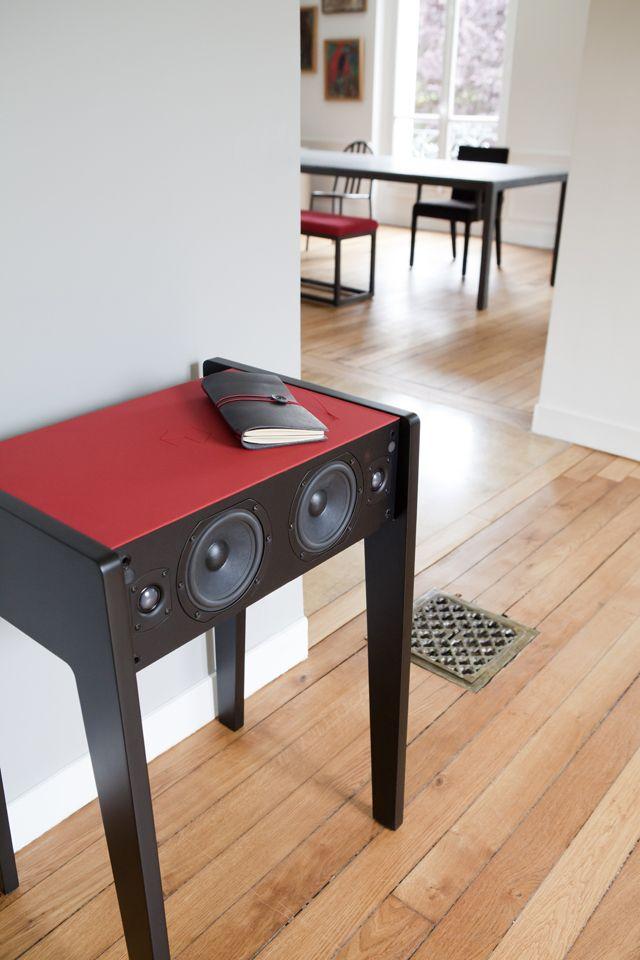 La Boite Concept X Fubiz Speaker Design Furniture Small Tables