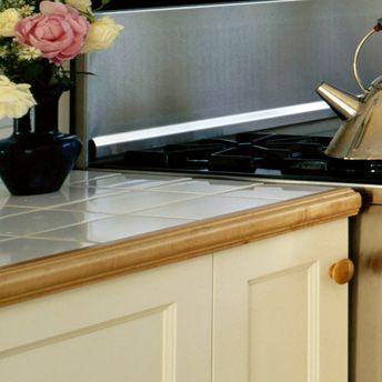Construct A Tile Countertop Tile Countertops Countertops White