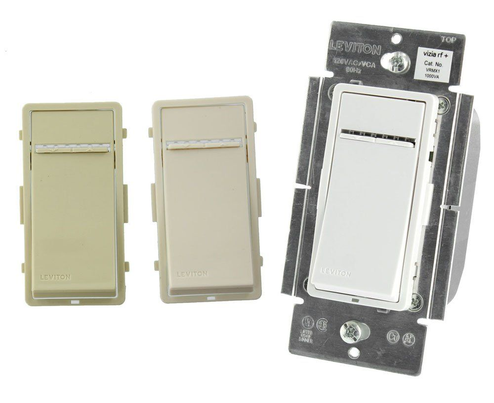 Would love dimmers in all rooms. Leviton VRMX1-1LZ 1000W Vizia RF ...