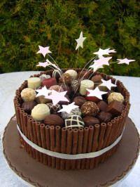 chocolate cake decorations - Cake Decorations