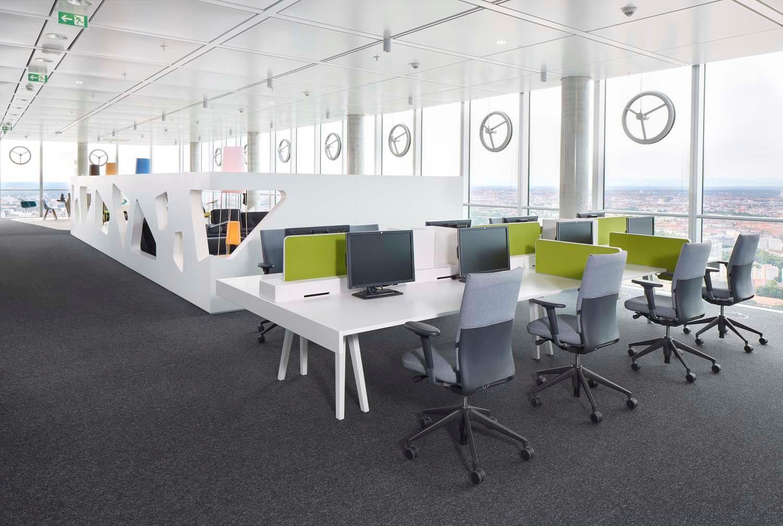 Inspiratiebeeld Workspace/Werkplek. Verkrijgbaar via De Giessen (www ...