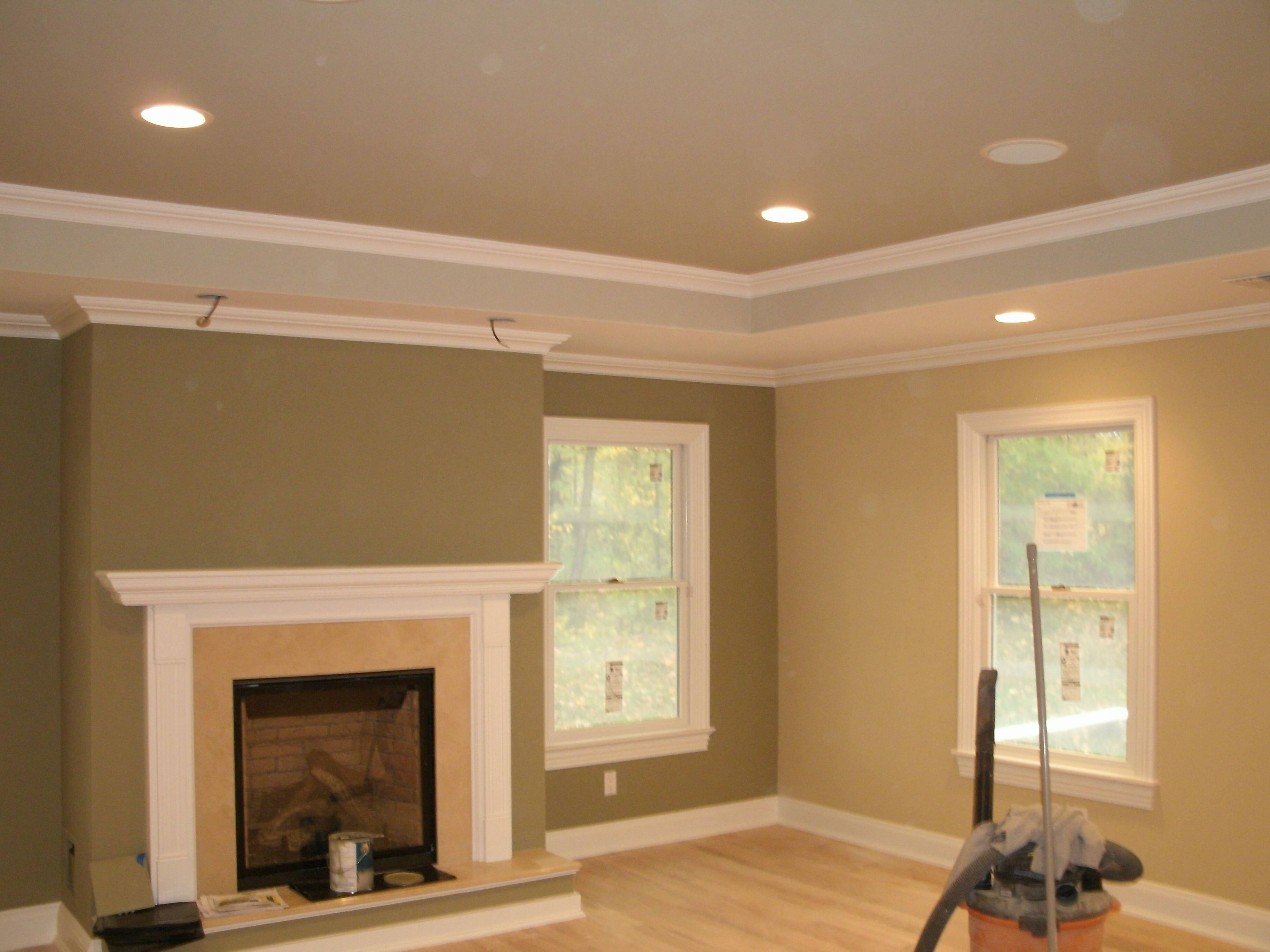 Interior painting molding finishes creative finishes - Best paint finish for living room ...