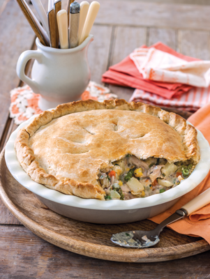 Southern Homestyle Chicken Pot Pie Recipe