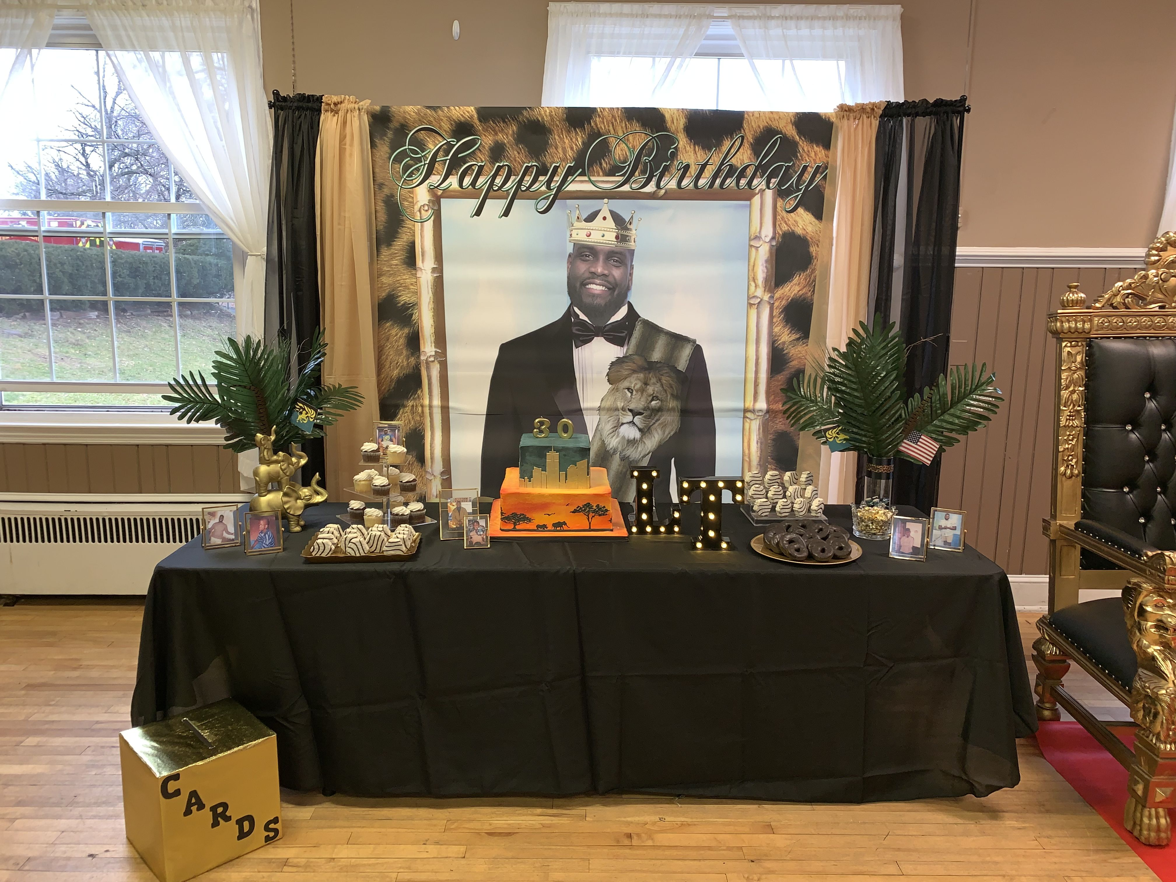 Coming To America Theme Birthday Party Africa Theme Party African Party Theme Coming To America Theme Party