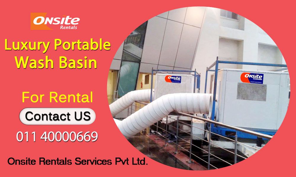 Portable Air Conditioner Rental For Outdoor Event In Delhi Air