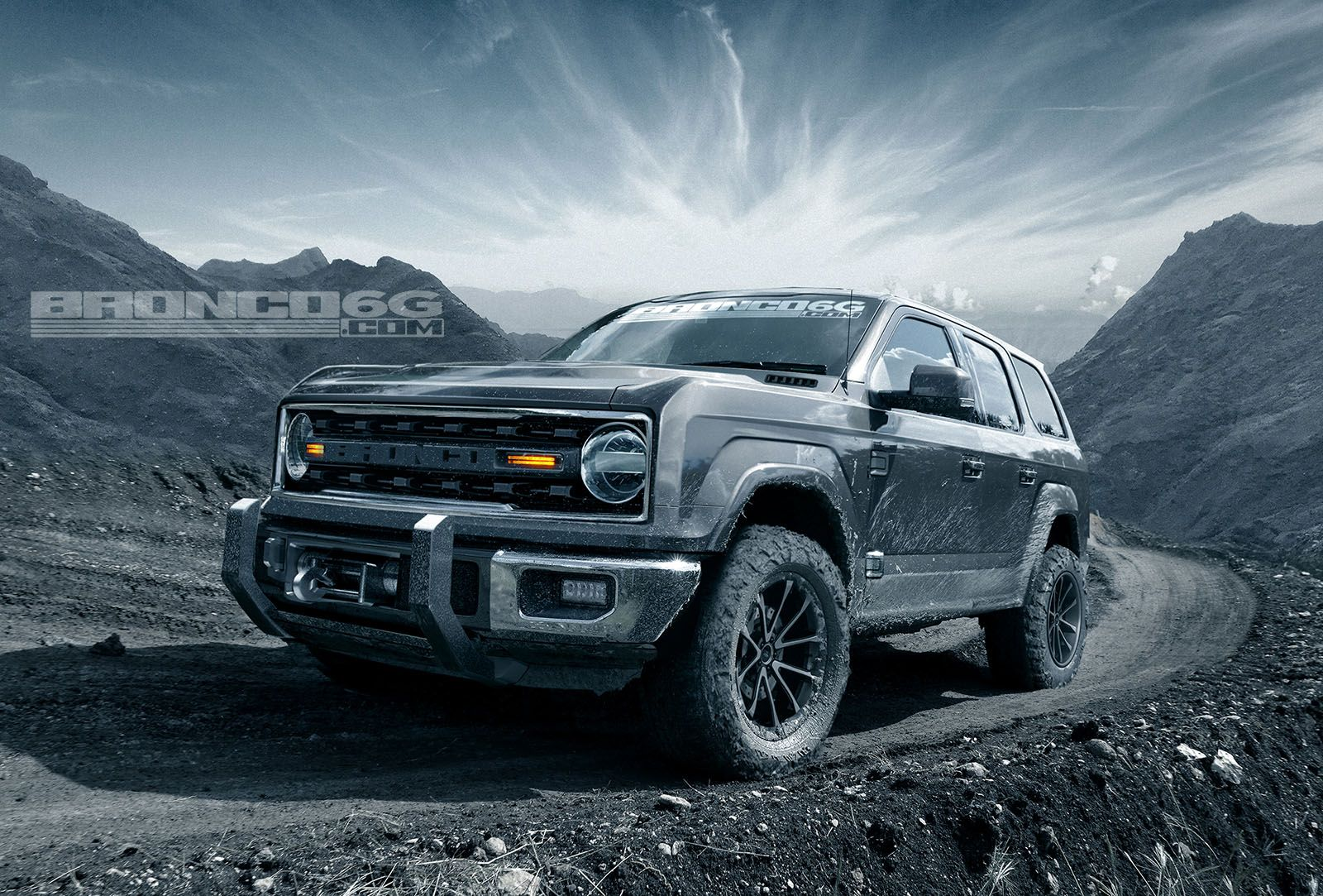 Ford To Revive Ford Bronco In 4 Door Configuration Report Ford
