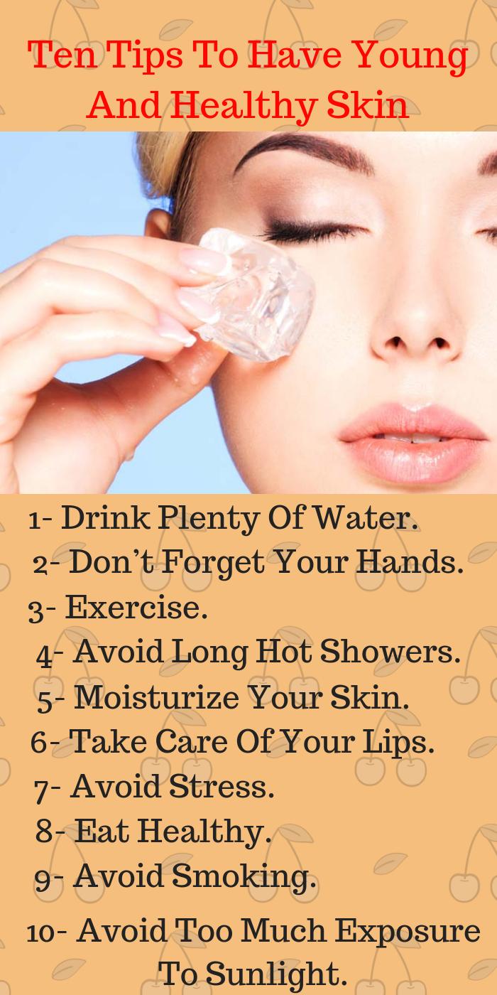 8 tips for healthy skin.  Healthy skin, Healthy skin tips, Skin