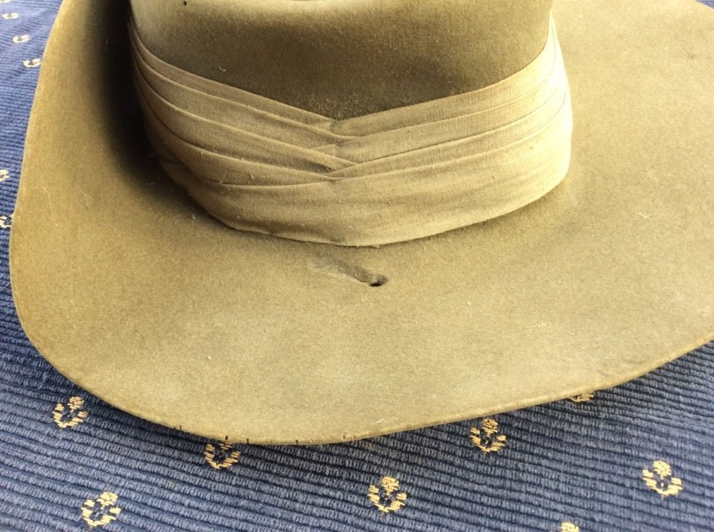 cf8275c8c A WW2 Australian Army Slouch HAT Dated 1943 | eBay | Adventure ...
