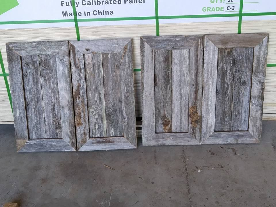 Cedar Fence Pickets Turned Into Cabinet