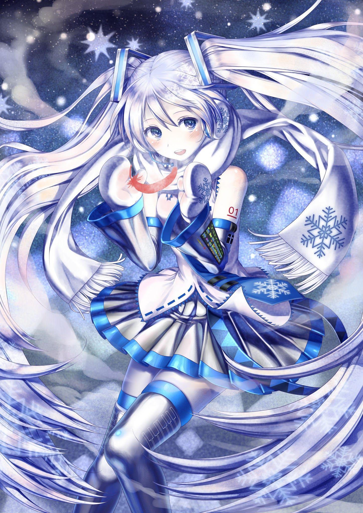 [ IMG] Cold Ice Hatsune Miku Anime Art Pinterest