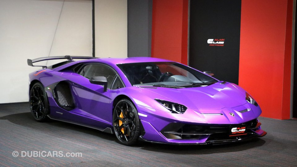 Super Cars For Sale >> Lamborghini Aventador Svj For Sale Aed 2 750 000 Purple