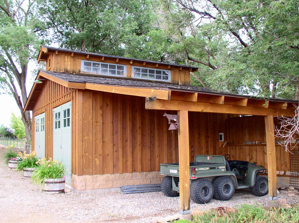 Four Unique Buildings Colorado Ranch For Sale Carport