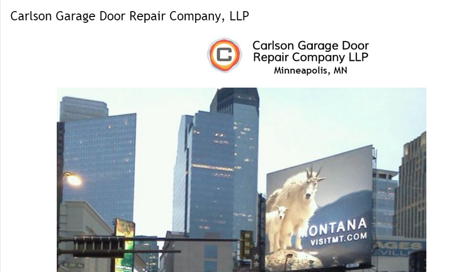 For Fast, Friendly, And Affordable Garage Door Repair In The Minneapolis, MN  And