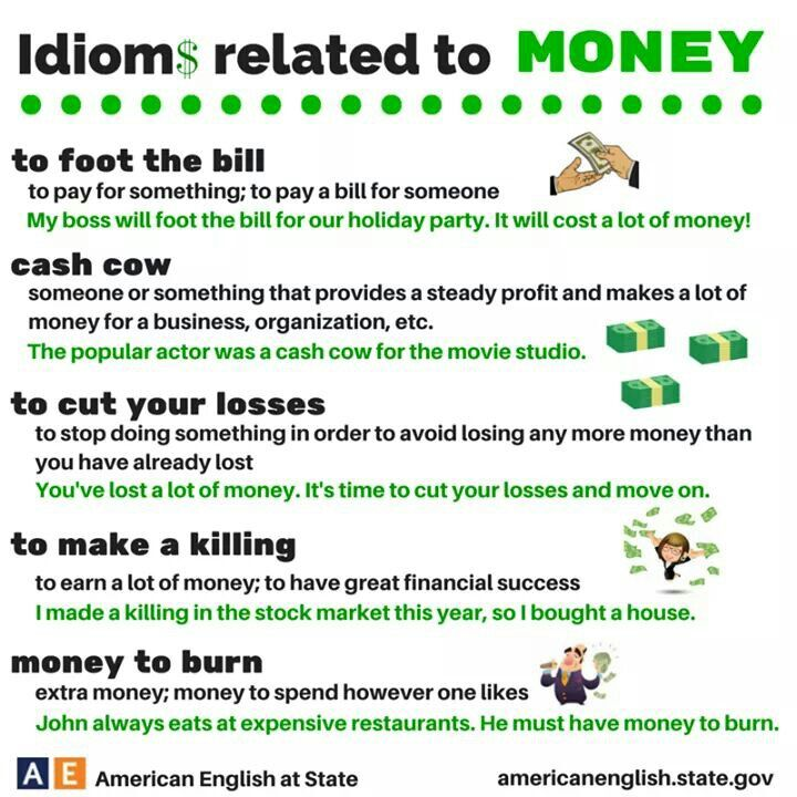 Related to money