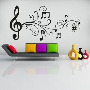 Vinilos Decorativos Notas Musicales Notas Musicales En 2019