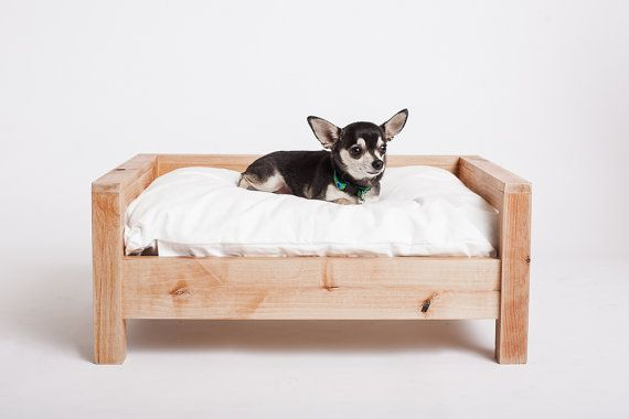 Small Dog Bed Modern Dog Bed Dog Furniture Elevated Dog Bed Pet Furniture Wooden Dog Bed Dog Bed Modern Dog Beds For Small Dogs Pet Bed Accessories