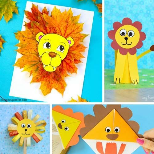 Animal Crafts For Kids Craft Projects Crafts Crafts For Kids
