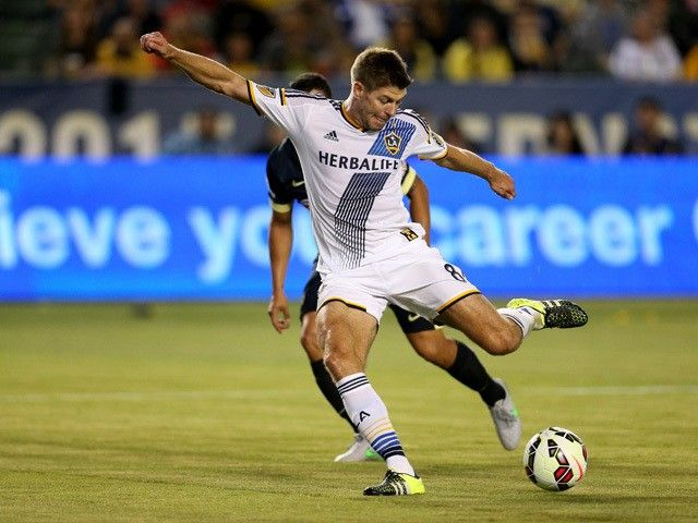La Galaxy Manager Bruce Arena Wants Steven Gerrard Robbie Keane Stay Steven Gerrard La Galaxy Liverpool Captain