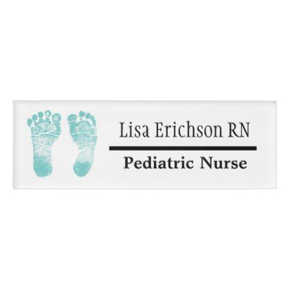 Pediatric nurse teal name tag personalized baby gifts giftidea pediatric nurse teal name tag personalized baby gifts giftidea diy unique cute baby gifts pinterest negle Choice Image