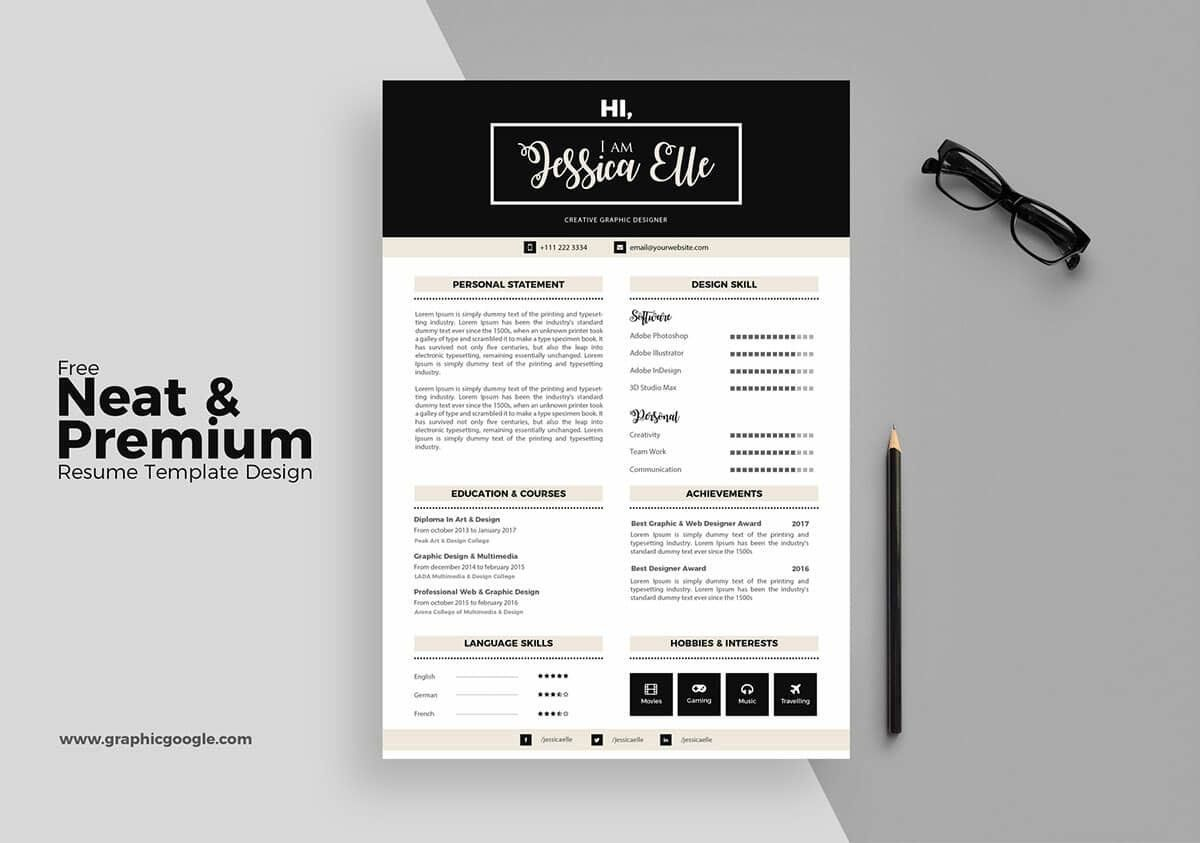 17+ Free Resume Templates [Download Now] Resume template
