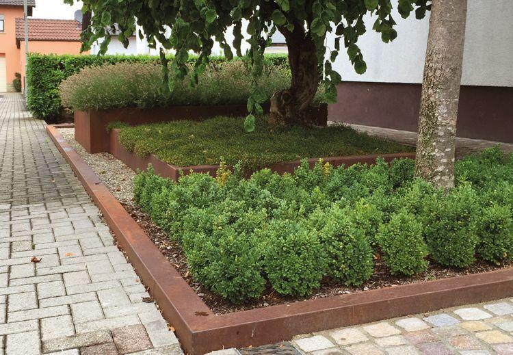 Traumgarten Ag contura pflanzgefässe die traumgarten ag corten steel