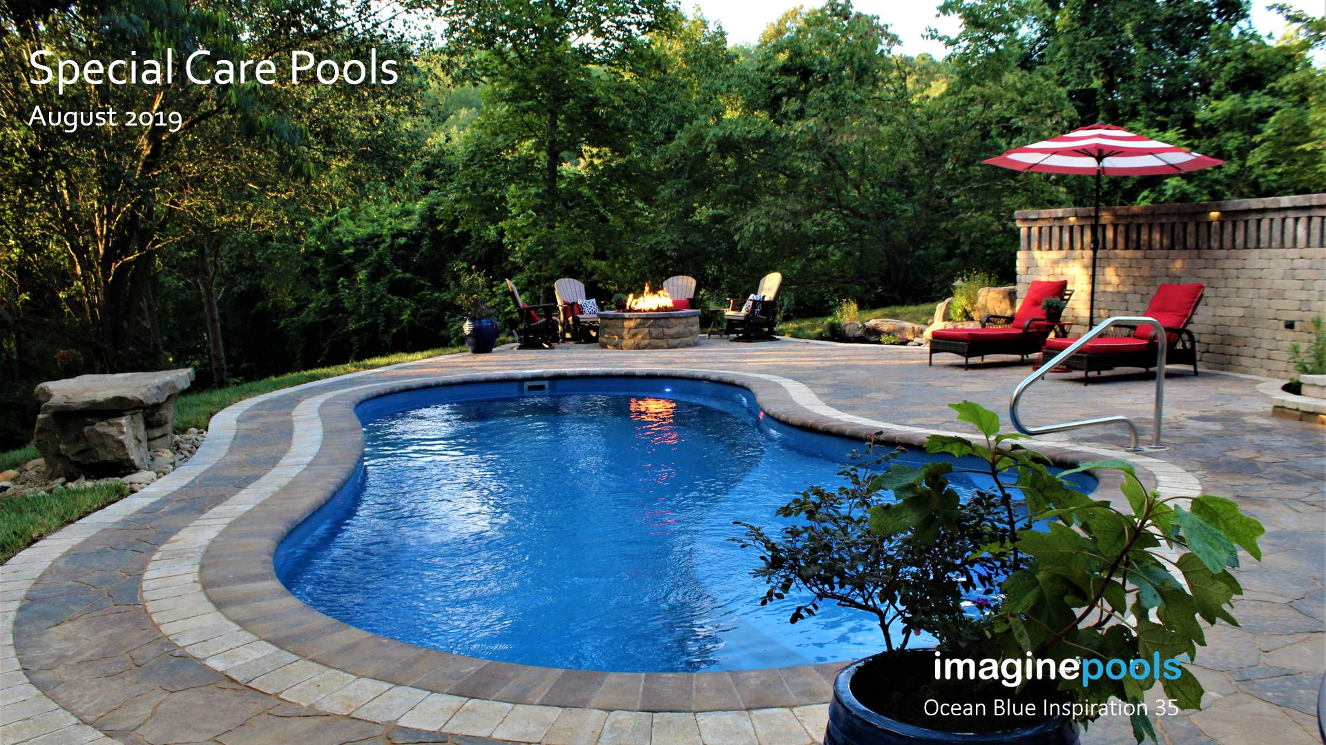 Imagine Pools Inspiration 35 Fiberglass Swimming Pools Swimming Pools Pool Patio