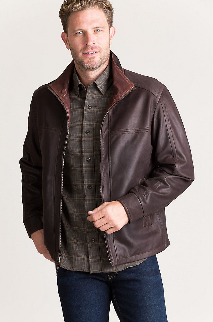The Elegant Barcelona Completes Your Three Season Wardrobe With Featherweight Nubuck South African Lambski Leather Jacket Leather Jacket Style Lambskin Leather [ 1109 x 736 Pixel ]