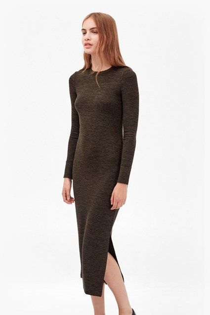58676c56916 Sweeter Sweater Bodycon Midi Dress