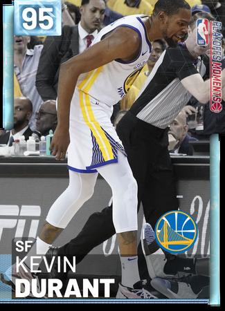 5329) KEVIN DURANT - NBA 2K19 Custom Card - 2KMTCentral